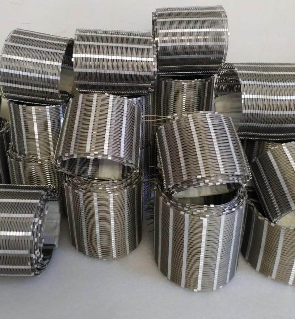 Производство и монтаж сетки из нержавеющей стали