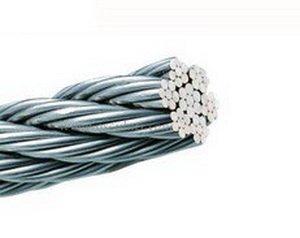 Технические характеристики сетки из стального нержавеющего троса